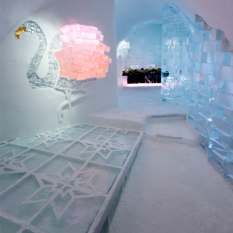 deccorush voyages icehotel hotel glace suede laponie deluxe vroom vonk decocrush d corez. Black Bedroom Furniture Sets. Home Design Ideas