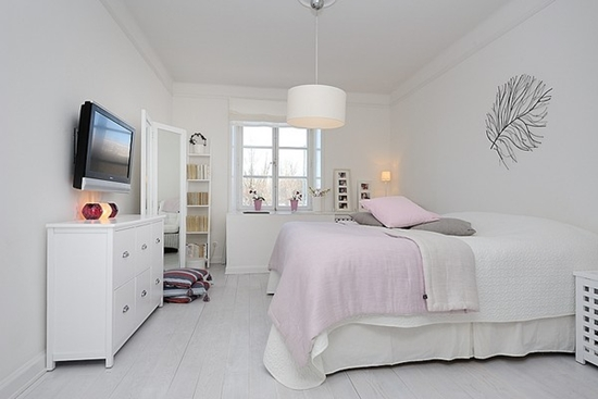 Idee De Chambre Pour Bebe Fille :  visitedecoappartementminimalistedecorationsimpleraffinee0004