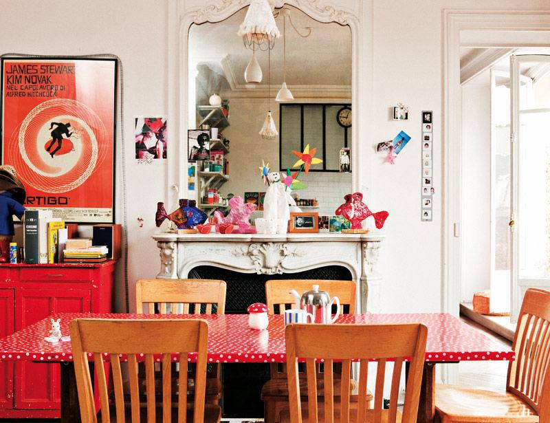Le duplex parisien des cr ateurs de bonton decocrush for Deco appartement duplex