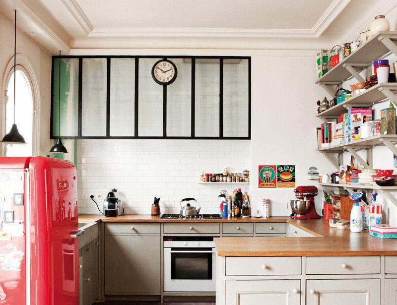 Decocrush visite deco appartement parisien avec vue06 for Deco appartement duplex