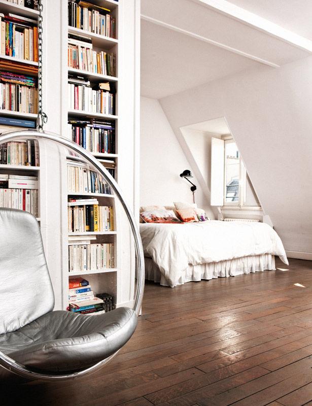 decocrush visite deco appartement parisien avec vue08 decocrush. Black Bedroom Furniture Sets. Home Design Ideas