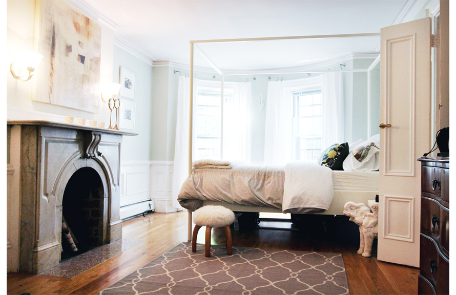 visite d co chambre d 39 ami d 39 erin gates via the every. Black Bedroom Furniture Sets. Home Design Ideas