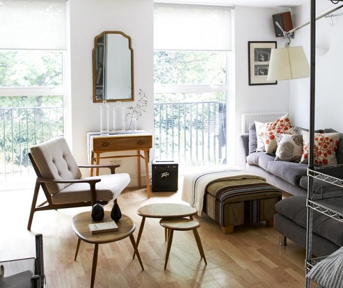 Un petit appartement londonien l esprit vintage decocrush - Petit appartement aux details vintages ...