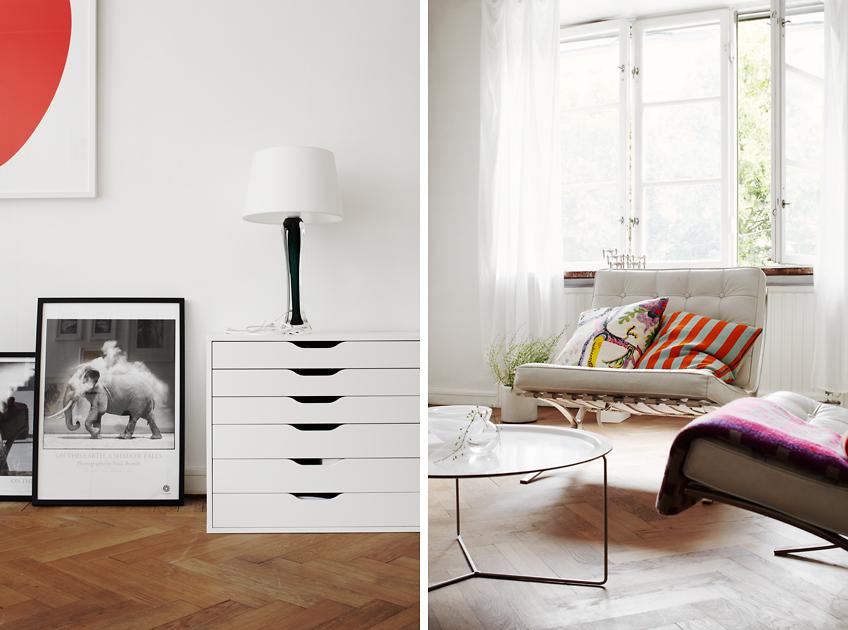 visite d co un appartement scandinave louer decocrush. Black Bedroom Furniture Sets. Home Design Ideas