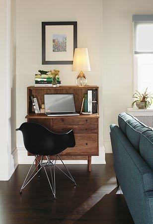 12 id es d co insolites pour un petit bureau chez soi decocrush - Amenager bureau dans salon ...