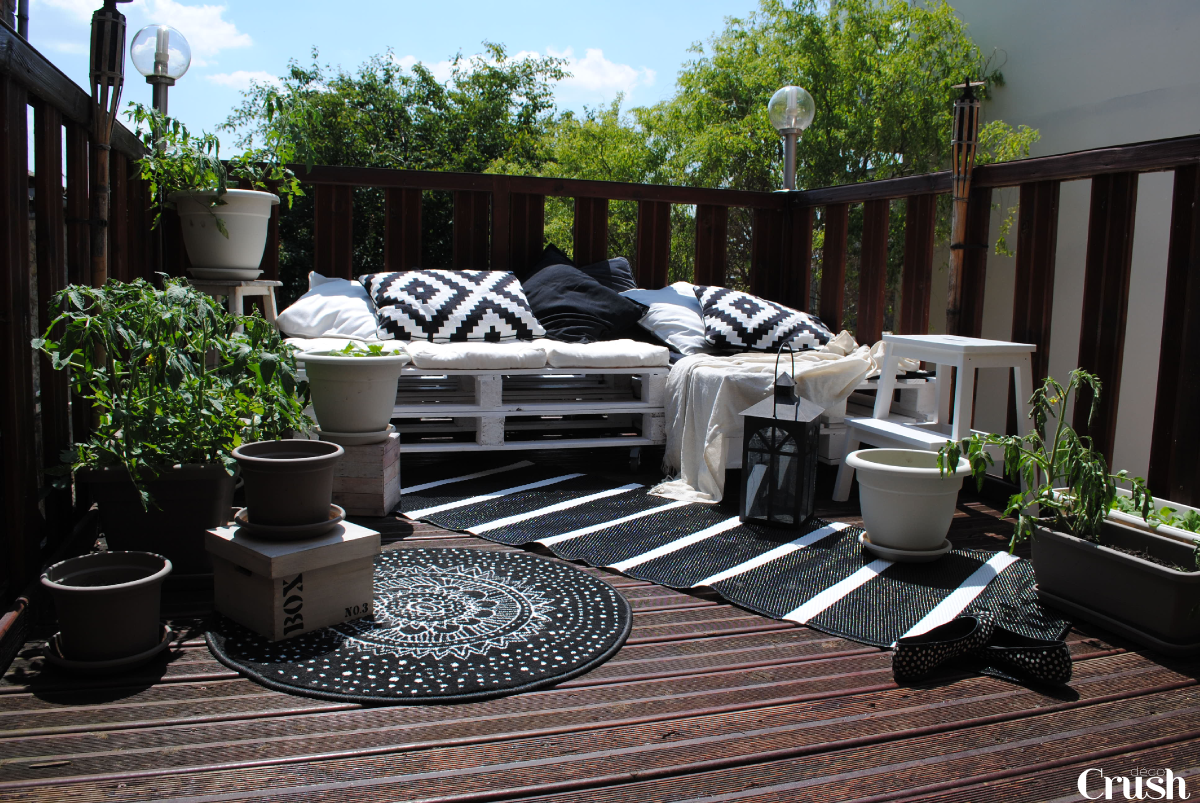 Comment decorer une petite terrasse for Decoration de terrasse