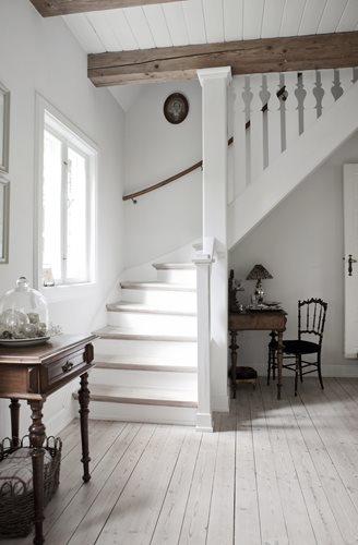 D co scandinave le charme du blanc et des meubles anciens decocrush - Charme scandinave meubles ...
