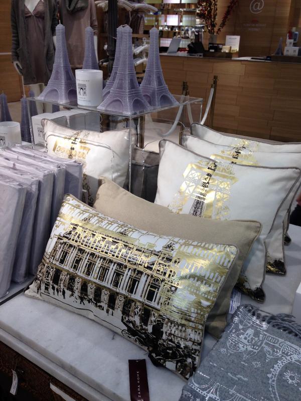 shopping d co zara home ouvre sur les champs elys es decocrush. Black Bedroom Furniture Sets. Home Design Ideas
