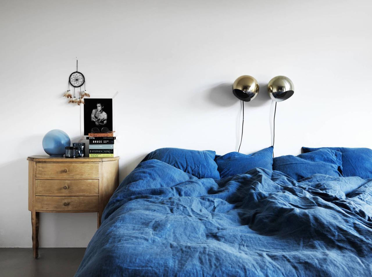 visite d co une jolie maison indigo en su de decocrush. Black Bedroom Furniture Sets. Home Design Ideas